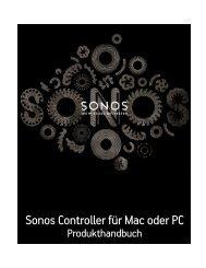 Der Sonos Controller für Mac oder PC - Almando
