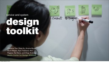 service and system - Austin Center for Design