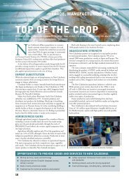 TOp OF THE CROp - Business Advantage International
