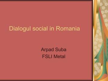 Dialogul social in Romania - EMF-FEM