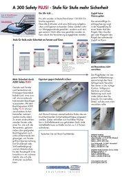 A 300 safetyPlus!.pdf - von Fenster & Türen Giombolini