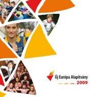 Új Európa Alapítvány 2009 - Mol