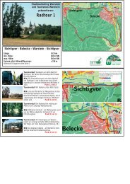 Radtour 1 - Stadtmarketing Warstein