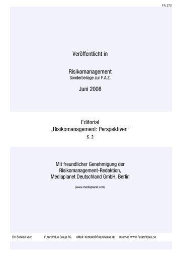 Risikomanagement: Perspektiven - Werner-gleissner.de
