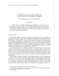 análisis de la balanza comercial: un enfoque de equilibrio general