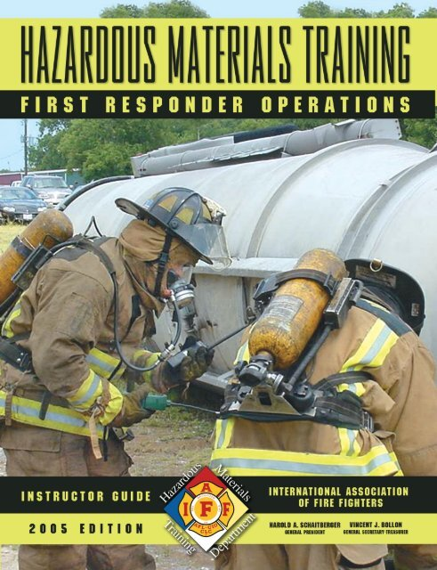 Hazmat Ops Instructor Guidepdf Livonia Professional Firefighters