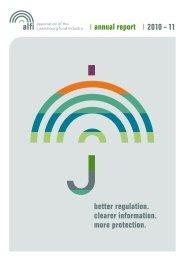 focus on investors annual report 2010 – 11 better regulation ... - Alfi