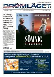 Sömnig i Stockholm - Apnéföreningen i Stockholm