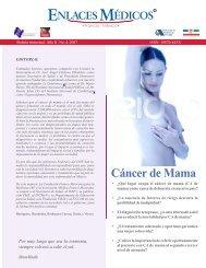 Cáncer de mama - Fundación Franco-Mexicana para la Medicina IAP
