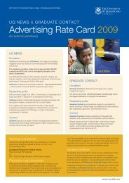 Advertising Rate Card 2009 - Office of Marketing and Communications