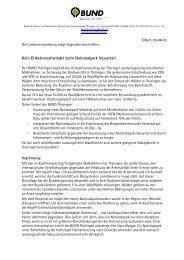 Leitantrag Vessertal - BUND e.V. Landesverband Thüringen