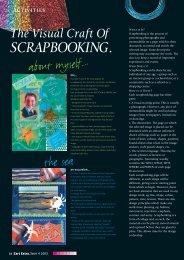 The Visual Craft Of SCRAPBOOKING. - Zart Art