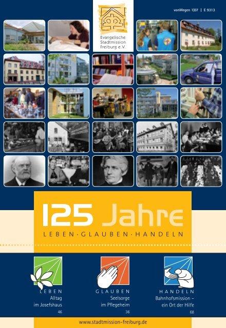 Festschrift 125 Jahre Stadtmission - Evangelische Stadtmission ...