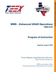 WMD – Enhanced US&R Operations - Texas Engineering Extension ...