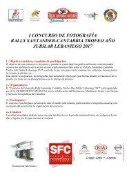 Bases Concurso fotografia 2014