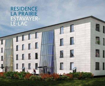 RESIDENCE LA PRAIRIE ESTAVAYER- LE-LAC - CFPI