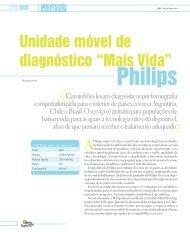 """Unidade móvel de diagnóstico """"Mais Vida"""" - Agenda Sustentável"""
