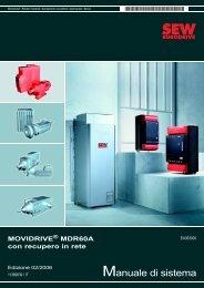 Manuale di sistema - SEW Eurodrive