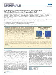 Structural and Electrical Functionality of NiO Interfacial Films in Bulk ...
