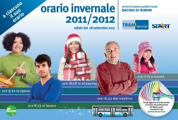 orario invernale 2011/2012 - Urponline - Provincia di Rimini