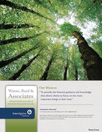 Client Service Brochure