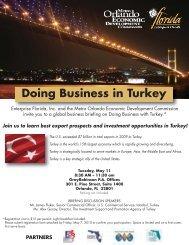Doing Business in Turkey - Metro Orlando Economic Development ...