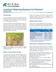 Livestock Watering Systems For Pastures - Scians.org