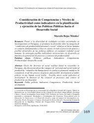 Consideración de Competencias y Niveles de Productividad como ...