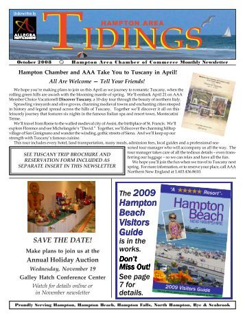 Hampton Beach Visitors Guide - Hampton Area Chamber of ...