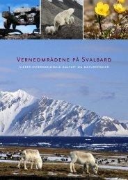 Verneområdene på Svalbard - Sysselmannen