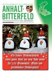 (Anhalt) Bitterfeld - spatznews.de