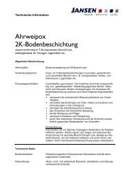 Ahrweipox 2K-Bodenbeschichtung - Colourandclean.de