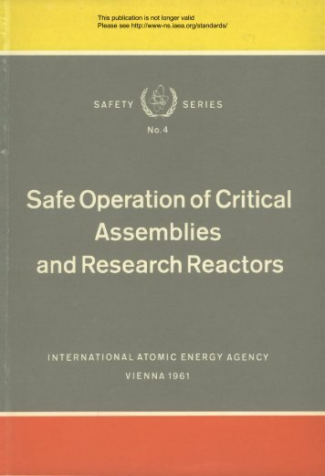 Safety_Series_004_1961 - gnssn - International Atomic Energy ...