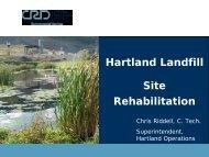 Hartland Landfill Site Rehabilitation