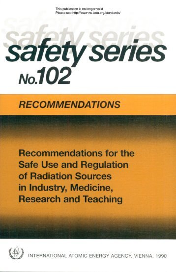 RECOMMENDATIONS - gnssn - International Atomic Energy Agency