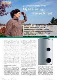 Gépész Magazin, 2011/2 - Vaillant