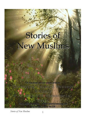 Stories of New Muslims - PDF