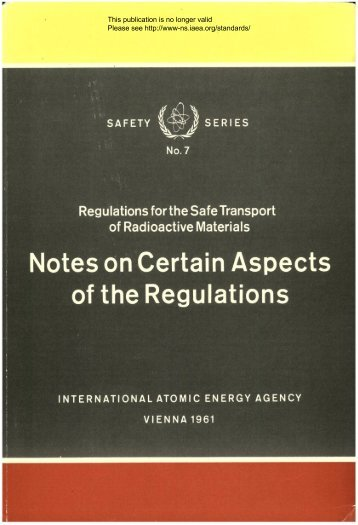 Notes on Certain Aspects of the Regulations - gnssn - International ...