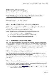 Protokoll der 29. Tagung des FA KI an der HS Biberach 2009