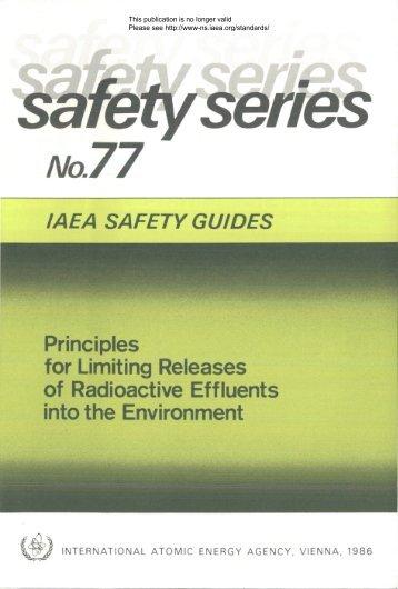 Safety_Series_077_1986 - gnssn - International Atomic Energy ...