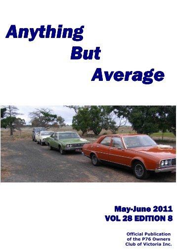 May /June 2011 - Leyland P76 Club of Victoria
