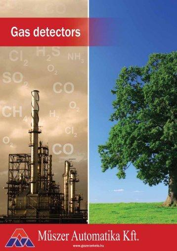 Gas monitoring products brochure - Műszer Automatika Kft.