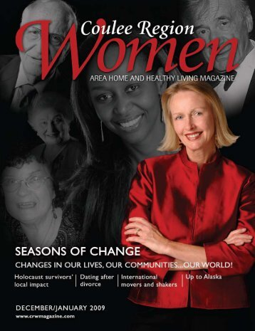 this issue of Coulee Region Women magazine.