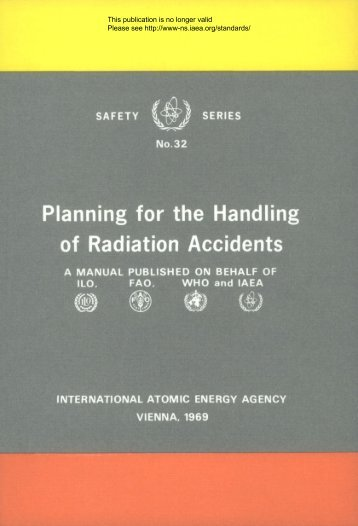 Planning for the Handling of Radiation Accidents - gnssn