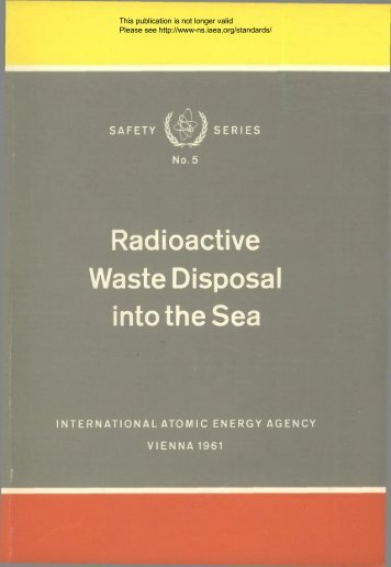 Safety_Series_005_1961 - gnssn - International Atomic Energy ...