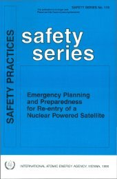 Emergency Planning and Preparedness for Re-entry of a ... - gnssn