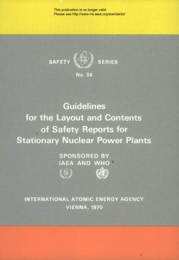 Guidelines for the Layout and Contents of Safety Reports for ... - gnssn