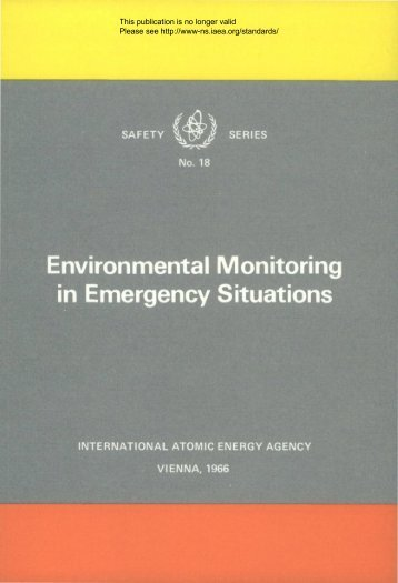 Environmental Monitoring in Emergency Situations - gnssn
