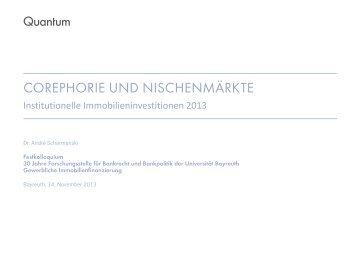 Dr. André Scharmanski - Geld und Internationale Wirtschaft