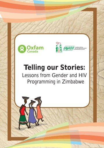 Telling Our Stories - Lessons from Gender and HIV ... - Oxfam Canada